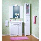 Комплект мебели для ванной Бриклаер Лючия 80